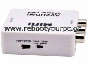 RCA To HDMI Video Converter