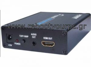 SCART To HDMI Converter (3.5Mm Audio Output)