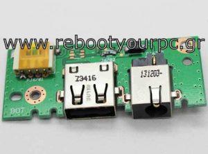 Asus X301 X401 X501 DC Power Jack + USB board