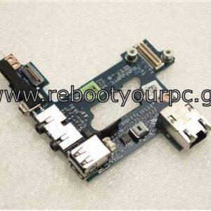 Dell Latitude E6500 M4400 USB Audio Ethernet Board