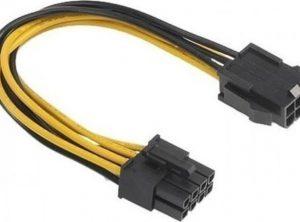 PCI-E 6-pin to 8-pin converter cable