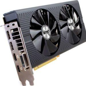 AMD Radeon Saphire Nitro RX480 OC 8GB DDR5 ( Refurbished Grade A )