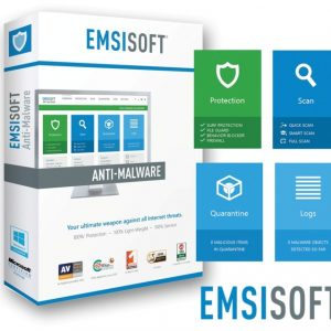 Emsisoft Anti-Μalware Home Windows (1 Χρήστης – 1 Έτος)