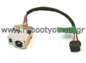 HP Sleekbook 15-B DC Power Jack