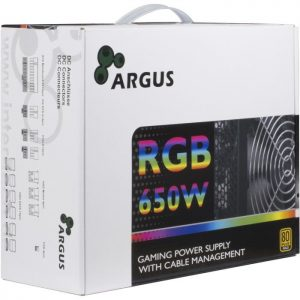 Τροφοδοτικό ATX Inter-Tech Argus RGB-650W 80+ Gold