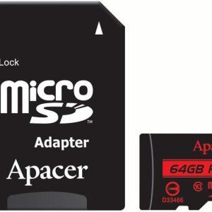 Apacer R85 SDHC 64GB Class 10 U1(AP64GMCSX10U5-R)