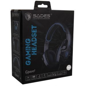 Gaming Headset SADES Gpower Blue (SA-708-BL)