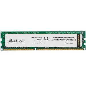 Corsair ValueSelect  DIMM 4GB DDR3L-1600, RAM (CMV4GX3M1C1600C11)