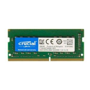 Crucial  SO-DIMM 4 GB DDR4-2666 SR, RAM (CT4G4SFS8266)
