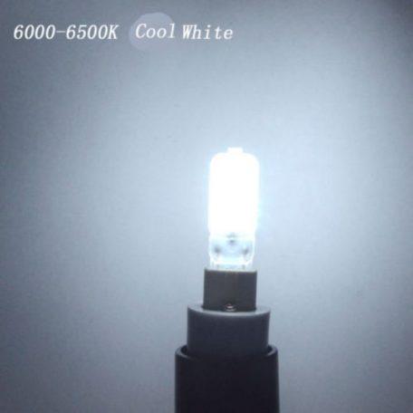ΛΑΜΠΤΗΡΕΣ LED COB G9 5W (ΣΙΛΙΚΟΝΗΣ) ΨΥΧΡΟ W 2