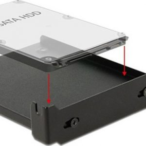 DeLock Installation Frame for 1 x 2.5″ HDD into the PC slot