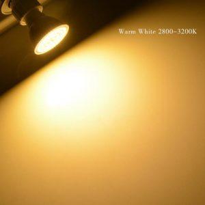 LED SPOT GU10 6W PC+AL ΘΕΡΜΟ WW