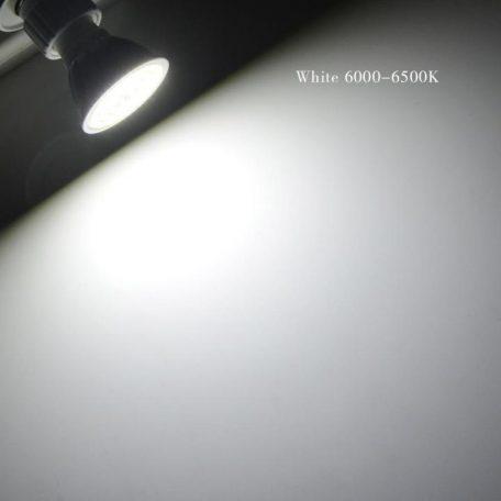 LED SPOT GU10 6W PC+AL ΨΥΧΡΟ W light