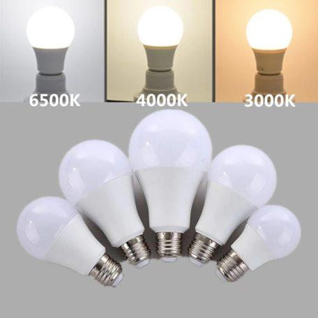 light bulbs 3000k - 6500k