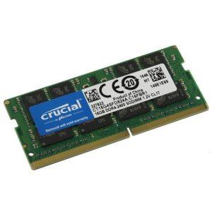 Crucial 16GB SO-DIMM DDR4-2400MHz (CT16G4SFD824A)