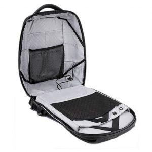 ARCTIC HUNTER τσάντα πλάτης B00193-BK με θήκη laptop 15.6″, μαύρη