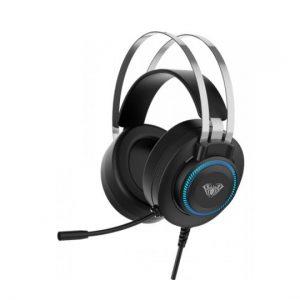 AULA gaming headset S601USB, RGB, USB, 50mm, μαύρο (AUL-S601USB)